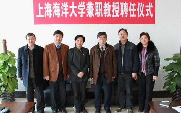 同济大学林建平教授和凌培亮教授受聘我校兼职教授图片